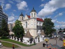 belatedness Μινσκ καθεδρικός ναός Paul Peter ST Στοκ εικόνα με δικαίωμα ελεύθερης χρήσης