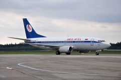 Belavia Airlines Airplane stock photography