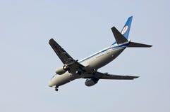 Belavia Boeing 737 Imágenes de archivo libres de regalías