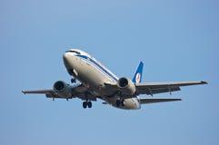 Belavia Boeing 737 Stockfotografie