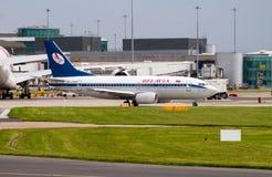 Belavia Boeing 737 Zdjęcia Stock