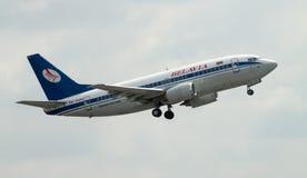 Belavia Boeing 737 Photographie stock libre de droits