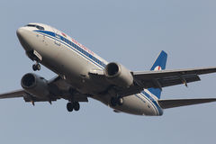 Belavia Boeing 737-300 aircraft Stock Photo