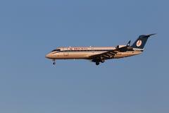 Belavia Canadair CL-600-2B19 Regional Jet CRJ-200E Stock Photography