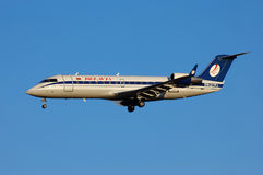 Belavia Canadair CL-600 Royalty Free Stock Photo