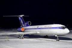 Belavia Tu-154M Stockfoto
