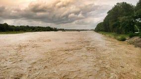 Laba river Krasnodar region Royalty Free Stock Photography