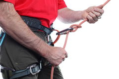 Belaying Royalty Free Stock Image
