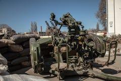 Belbek military base ?4515 in Crimea, Ukraine Stock Photo