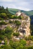 Belcastel castle , France royalty free stock photography