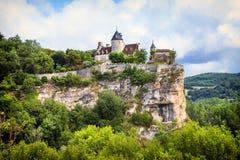 Belcastel castle , France Stock Images