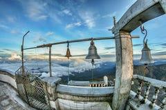 Belces del pico de Adán imagen de archivo
