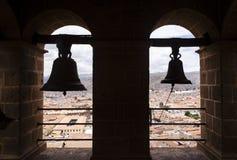 Belces sobre Cusco Foto de archivo