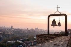 Belces y hermosa vista de Tbilisi Fotografía de archivo libre de regalías
