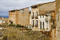 Belchite Photo stock
