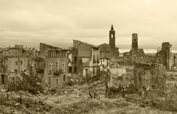 Belchite Stockfotos