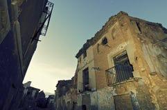 Belchite Photographie stock libre de droits