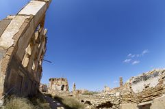 Belchite Image libre de droits