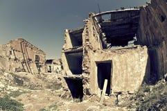 Belchite Photo libre de droits
