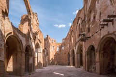 Belchite. Is a municipality of the province of Zaragoza, Spain. It is known for having been a scene of one of the symbolic battles of the Spanish Civil war, `s Stock Photos