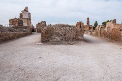 Belchite Royalty Free Stock Photos