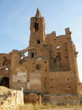 Belchite, España fotografía de archivo