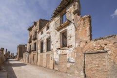 Belchite Royalty Free Stock Photography