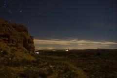 Belchite na noite Foto de Stock Royalty Free