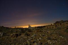 Belchite by Night Royalty Free Stock Photography