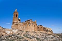 Belchite ruïnes Stock Afbeelding