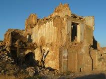 Belchite ruins, Zaragozxa, Spain Stock Photo