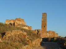 Belchite ruins, Zaragozxa, Spain Stock Photos