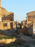 Belchite ruins, Zaragozxa, Spain Stock Photography