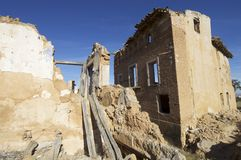 Belchite Royalty Free Stock Photo