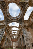 Belchite village destroyed in a bombing during the Spanish Civil War Royalty Free Stock Photos