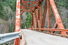 Belden Town, Feather River bridge Royalty Free Stock Photography