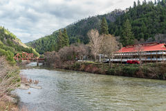 Belden Town on the Feather River Stock Image