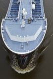 Beldoref - Bulbous bow of a vessel at the Kiel Canal Stock Photo