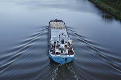Beldorf - General cargo ship at Kiel Canal Stock Photo