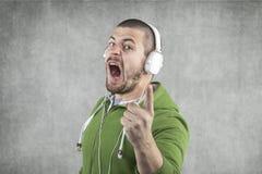 Beledig mijn muziek niet Royalty-vrije Stock Foto's