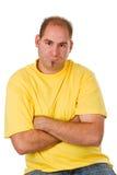 Beleidigter Mann Lizenzfreies Stockfoto