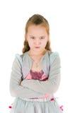 Beleidigtes Mädchen Stockfotografie