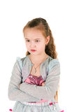 Beleidigtes Mädchen Stockbild