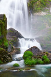 Belelle river Waterfall. Neda, A Coruña, Spain Royalty Free Stock Image
