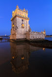 Belem in blue Stock Photo