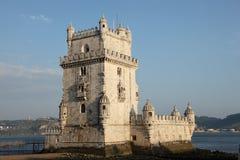 belem de lisbon torre Arkivfoto