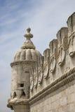 belem de portugal torre Royaltyfria Bilder