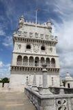 belem de portugal torre Arkivfoton