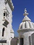 belem de portugal torre Arkivfoto