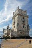 belem de torre Arkivbild